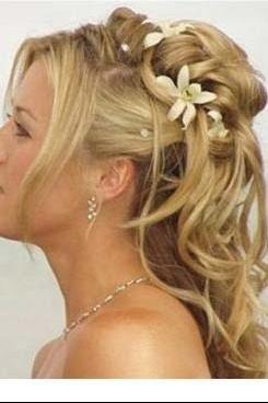 Exemple de coiffure semi attach e mariage forum vie pratique - Coiffure mariage detache ...