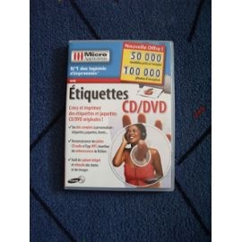Etiquettes Cd Dvd Micro Application