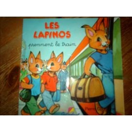 Les-Lapinos-Prennent-Le-Train-Les-Lapinos-Prennent-Le-Train-Livre-871842452_ML