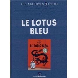 les-archives-tintin-le-lotus-bleu-de-herge-et-casterman-livre-868132821_ML