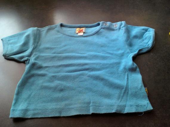 tee shirt turquoise 18 mois
