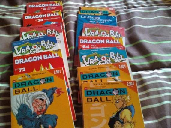 mangas dragon ball