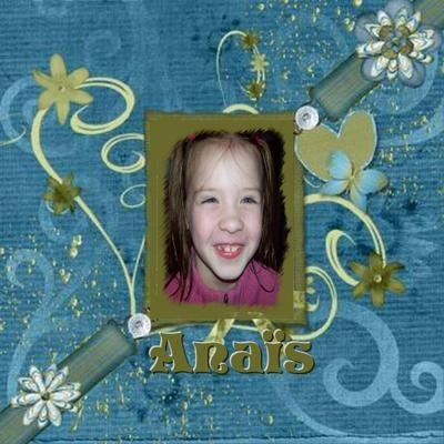 Cadeau d'Ana pour Anaïs