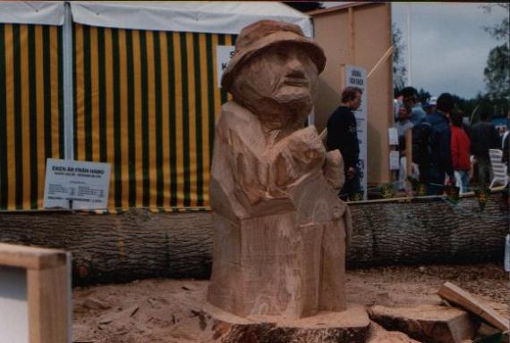 Suède-Sculpture sur bois