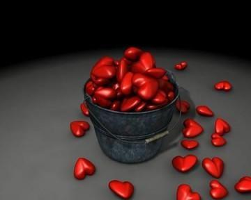 Un seau débordant d'amour