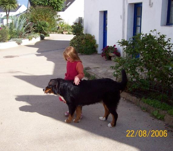 Promenade dans le village sur l'île de Houat