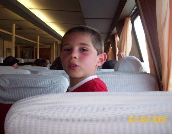 Dans le bateau