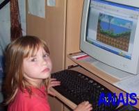 Anaïs joue à Sonic...