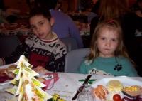 Repas de Noël à  l'IME
