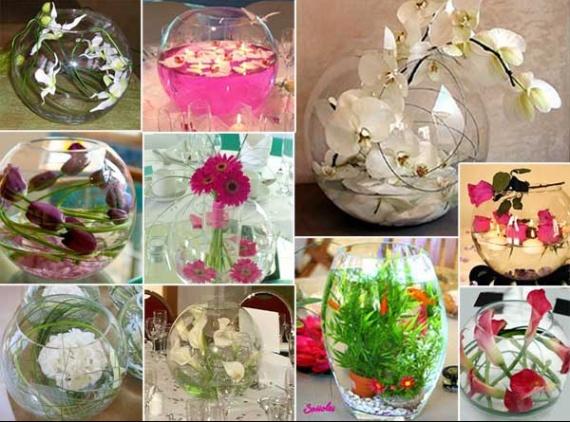 Cherche vase boule en verre d coration forum vie pratique - Boule plastique transparente pas cher ...