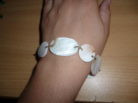 Bracelet en nacre (unique)
