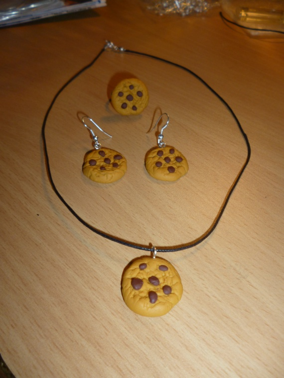Parure complete Cookie = 10 euros