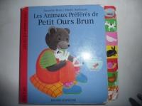 livres cartonné petit ours brunet animaux 1,5€