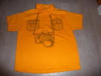 T-shirt Polo jaune TCF 6 ans 2€