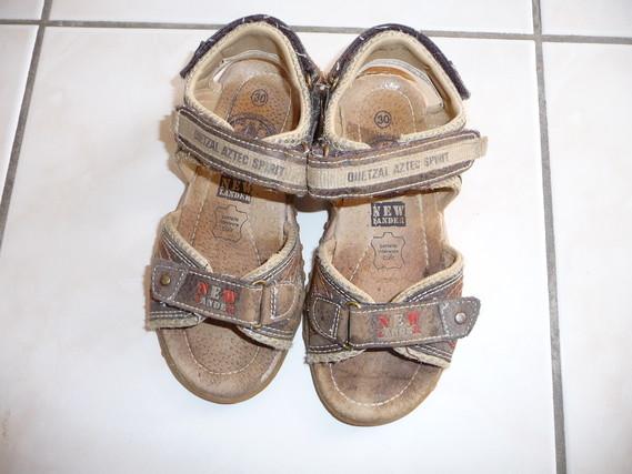 sandale garçon pointure 30 cuir