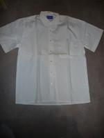 chemisette blanc crème kiabi 2€ taille M