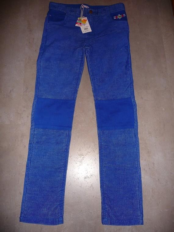 pantalon velours cotelé dpam 14ans NEUF 18€