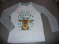 t-shirt orchestra blanc 14 ans 4€