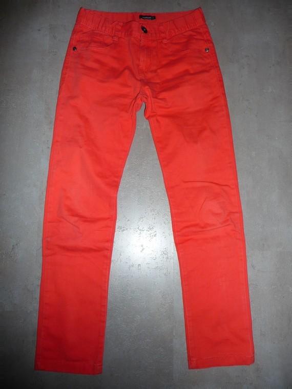 pantalon orange In Extenso 12 ans 7€