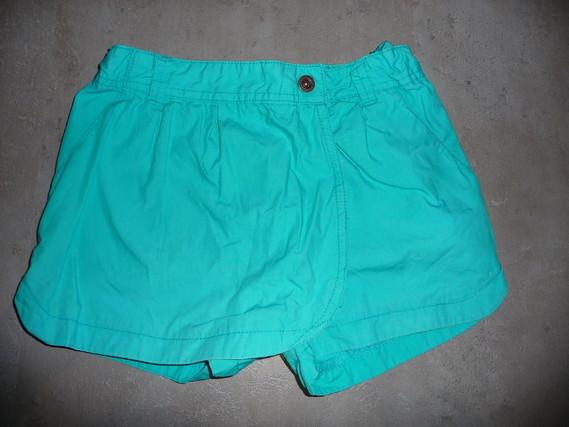short effet jupe bleu kiabi 8 ans 4€