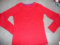 t-shirt ESPRIT rouge 12 / 13 ans 2€