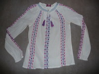 blouse mango kids 11/12 ans 9€