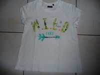 t-shirt IKKS fille taille 10 ans 4€
