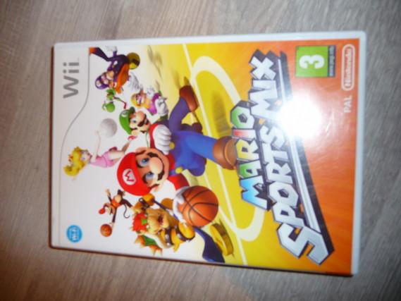 jeu wii Mario sport MIX 12€