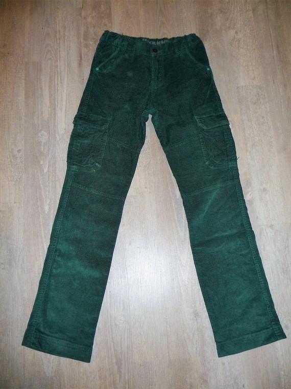 pantalon velours vert vertbaudet 14 ans 9€