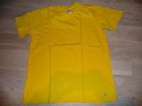 t-shirt jaune decathlon 1€