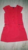 robe matelassé rouge kiabi fille 10 ans