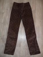 pantalon velours lili gaufrette 10 ans 15€