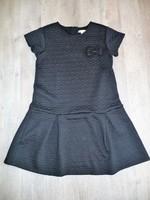 robe vertbaudet effet matelassé noir 10 ans