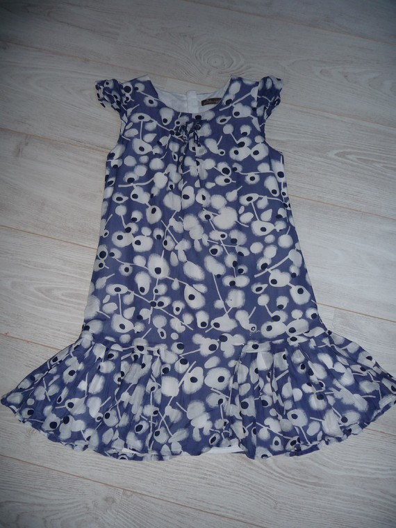 robe jean bourget soie 10 ans 20€
