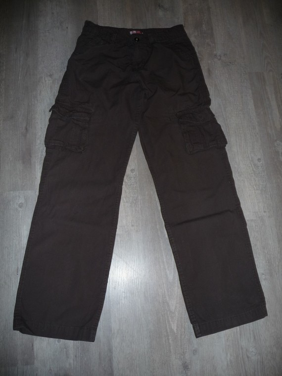 pantalon dpam 14 ans marron 5€
