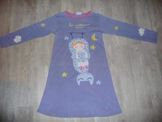 chemise de nuit dpam 10 ans 8€