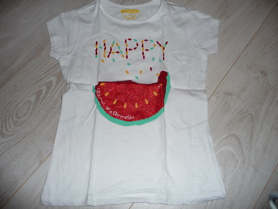 t-shirt in extenso 10 ans 2€