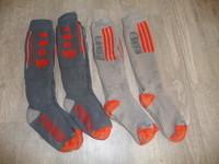 lot 4 paires de chaussettes de ski 31/34 8€