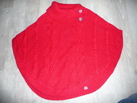 poncho pull sergent major 10/11ans 12€