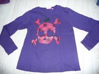 t-shirt kiabi 10 ans violet 2€