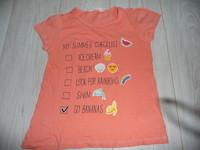 t-shirt h&m 9/10 ans 2€