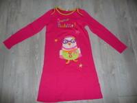 chemise de nuit dpam 12 ans rose super poulette 10€