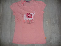 t-shirt sergent major rose 12 ans 5€