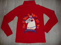 sous-pull dpam rouge 12 ans 5€