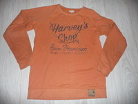 sweat orange vertbaudet 3€