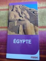 livret sur l'égypte avec lieu à visiter 1€