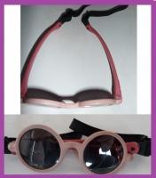 Lunette de soleil fille rose avec attache intégré 5€