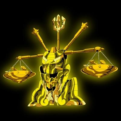 Armure d or de la balance saint seiya les chevaliers du - Balance et scorpion au lit ...
