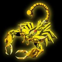 Armure d or du Scorpion