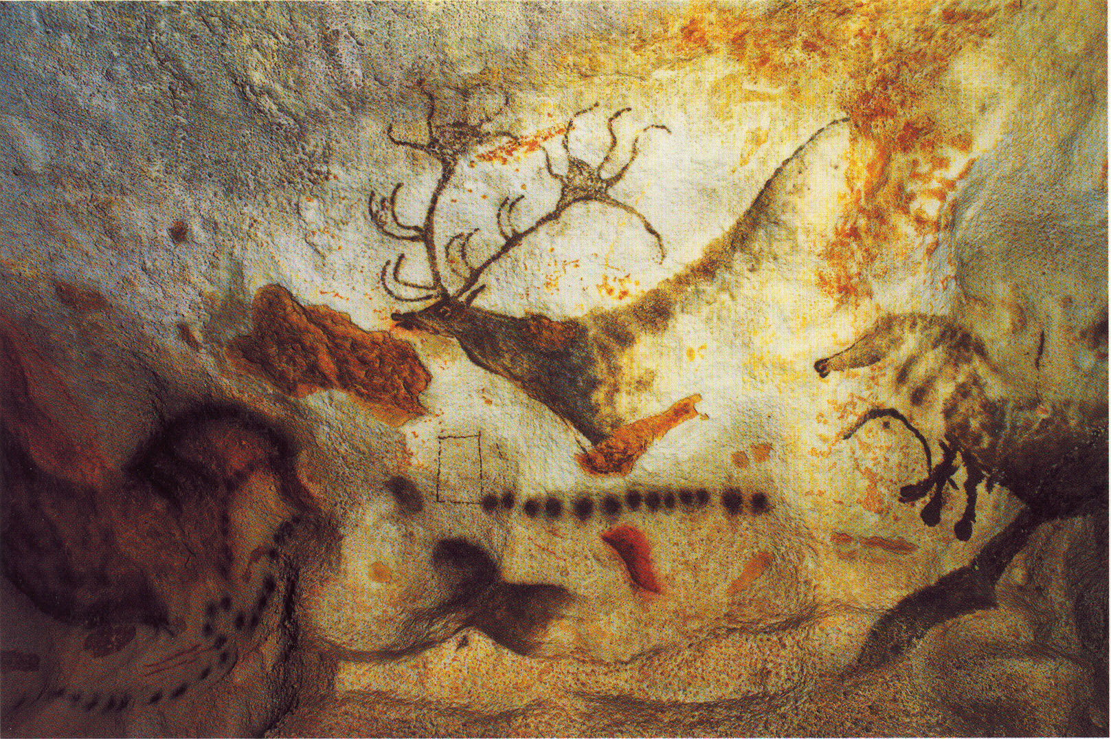 fresques  préhistoriques  de Lascaux